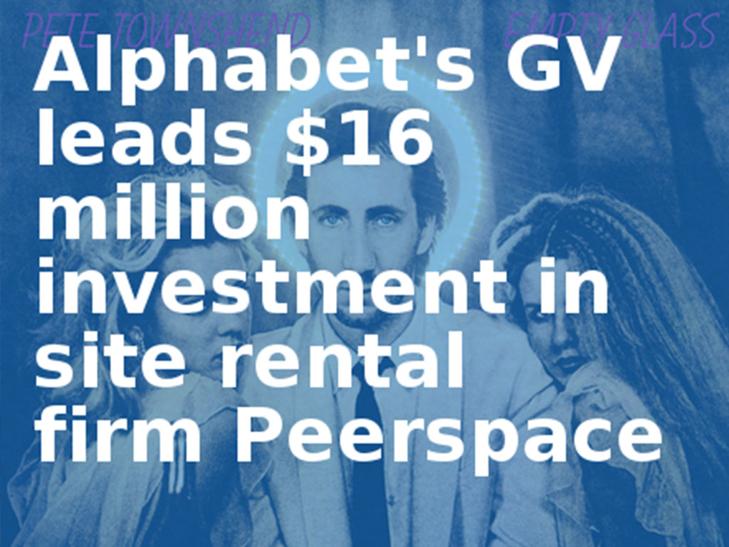 Alphabet's GV leads $16 million investment in site rental firm Peerspace